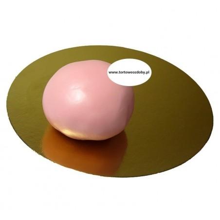 Lukier plastyczny różowy 1kg