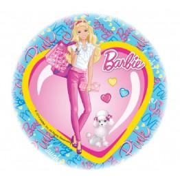 Opłatek na tort Barbie-Nr 12-21cm