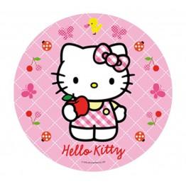 Opłatek na tort Hello Kitty-Nr 1-21cm