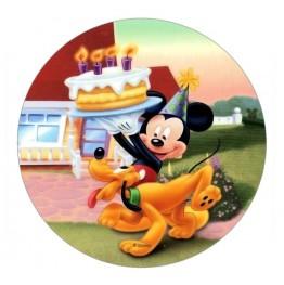 Opłatek na tort Myszka Miki-Nr 2-21cm