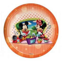 Opłatek na tort Myszka Miki-Nr 4-21cm