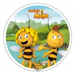 Opłatek na tort Pszczółka Maja-Nr 1-21cm