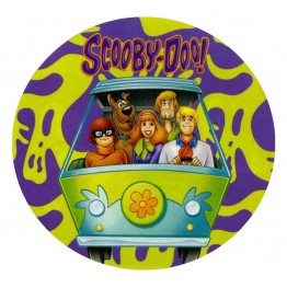 Opłatek na tort Scooby Doo-Nr 4-21cm