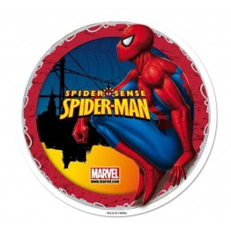 Opłatek na tort Spiderman-Nr 3-21cm