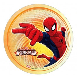 Opłatek na tort Spiderman-Nr 4-21cm
