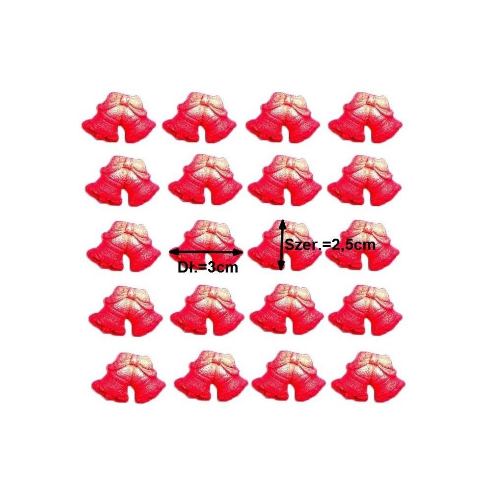 Świeczki urodzinowe białe cyferki z brokatem 7