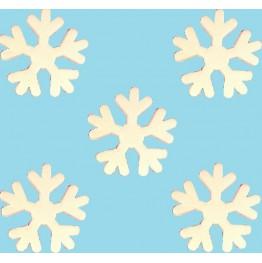Płatki śniegu z cukru-duże
