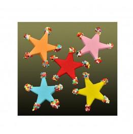 Gwiazdy świąteczne małe z cukru 5 sztuk