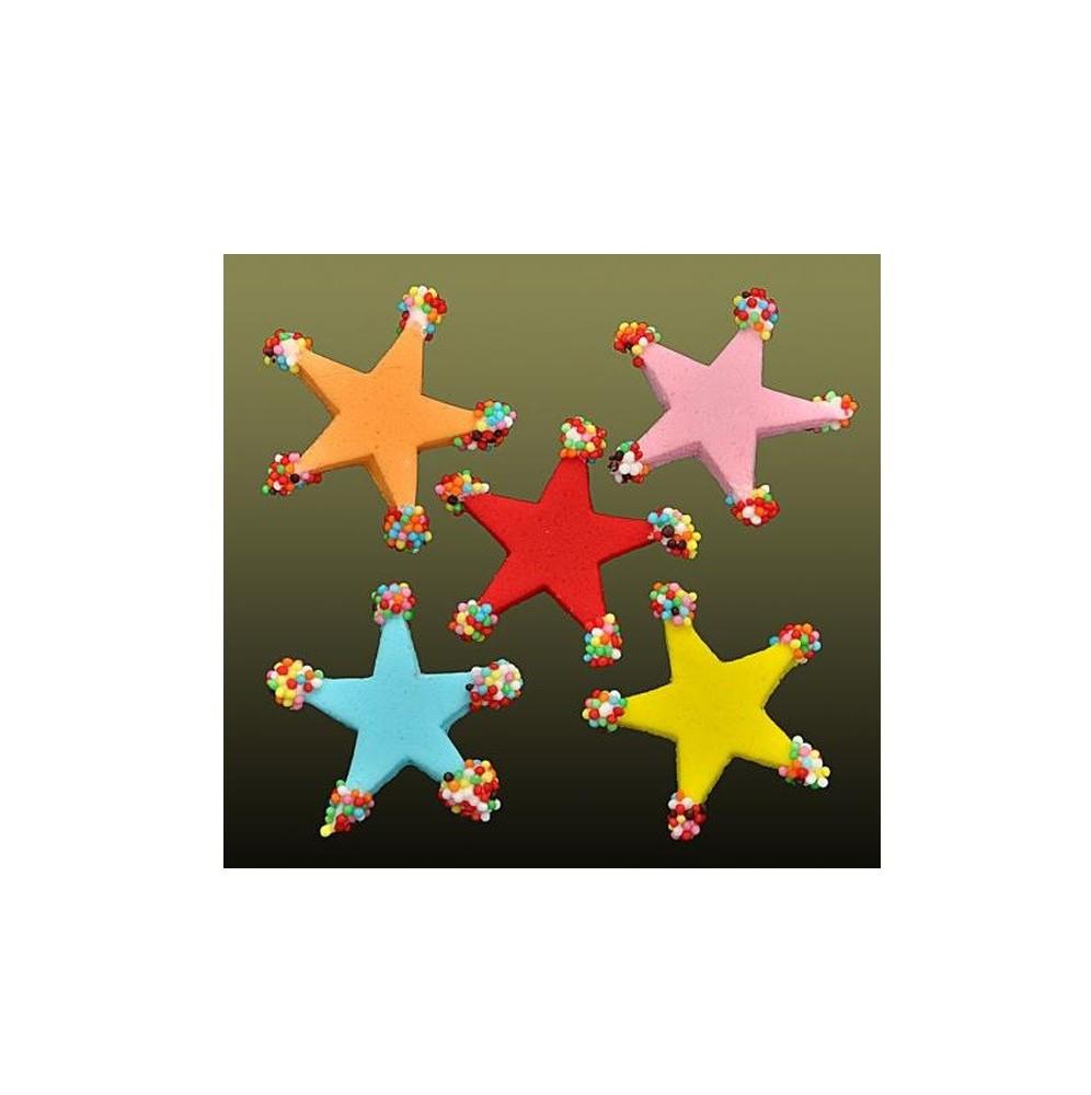 Świeczki urodzinowe cyferki kolorowe 5
