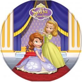 Opłatek na tort Księżniczka Zosia-Nr 4-21cm