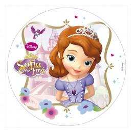 Opłatek na tort Księżniczka Zosia-Nr 5-21cm
