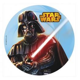 Opłatek na tort Gwiezdne Wojny-Nr 2-21cm