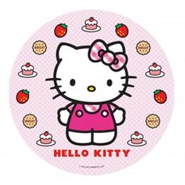 Opłatek na tort Hello Kitty-Nr 12-21cm