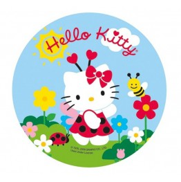 Opłatek na tort Hello Kitty-Nr 13-21cm