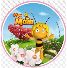Opłatek na tort Pszczółka Maja-Nr 9-21cm
