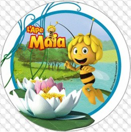Opłatek na tort Pszczółka Maja-Nr 11-21cm