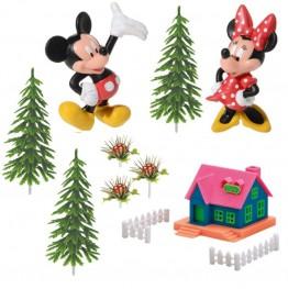 Zestaw na tort dla dzieci-Myszka Miki