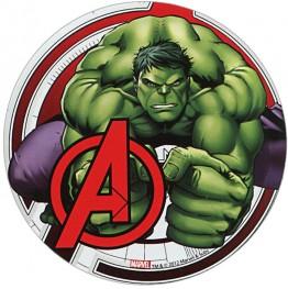 Opłatek na tort Avengers-Nr 2-21cm