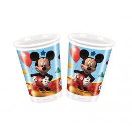 Kubeczki plastikowe Myszka Miki-8 sztuk