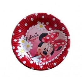 Talerzyki papierowe-Myszka Minnie-19