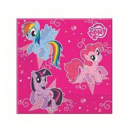 Serwetki papierowe Koniki Pony-20 sztuk