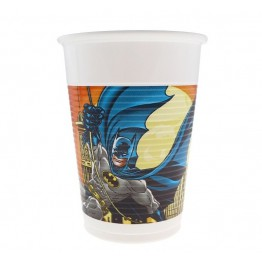Kubeczki plastikowe Batman-8 sztuk