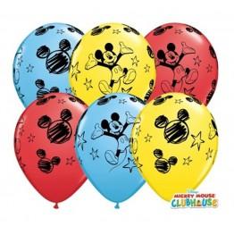Balony Qualatex-Myszka Miki 3 sztuki