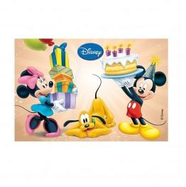Opłatek na tort Myszka Miki-Prostokąt-1-29cmx20cm