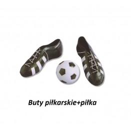 Zestaw piłkarski buty i piłka