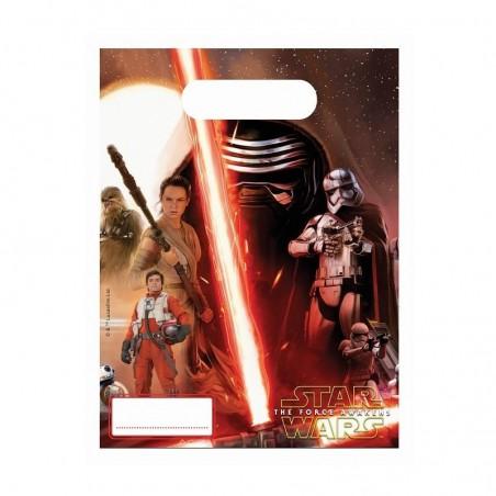 Torebki urodzinowe Star Wars 6 sztuk