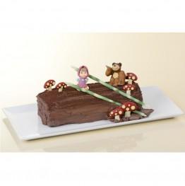Opłatek na tort z cukru Auta-Nr 1-22cm