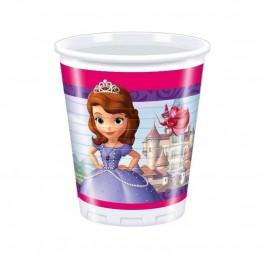 Kubeczki plastikowe Księżniczka Zosia-8 sztuk