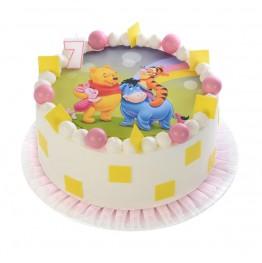 Figurka urodzinowa na tort-18 lat z piersiami