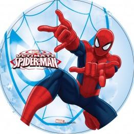 Opłatek na tort Spiderman-15-21cm