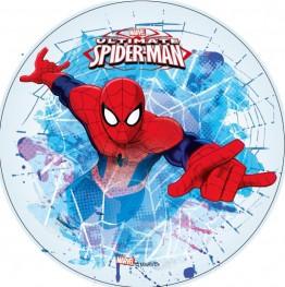 Opłatek na tort Spiderman-18-21cm