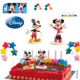 Zestaw na tort Miki i Minni-Dekora