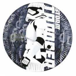 Talerzyki papierowe-Gwiezdne Wojny-19