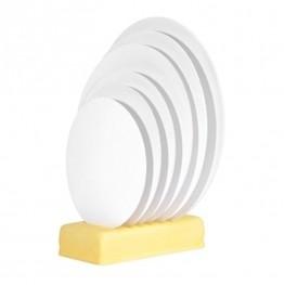 Groszki perłowe białe 4mm 30g