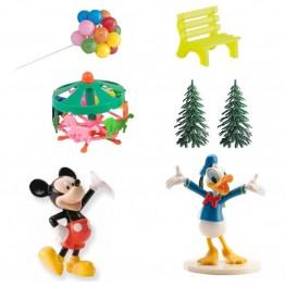 Zestaw urodzinowy na tort Miki i Donald