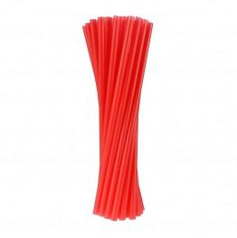 Rurki-słomki czerwone PZPN-20 sztuk