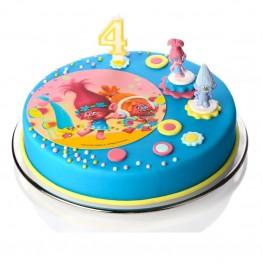 Prostokątny opłatek na tort komunijny Komunia Święta-2-29cmx20cm