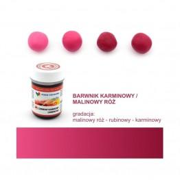 Barwnik Food Colours w żelu czerwony karminowy 35g