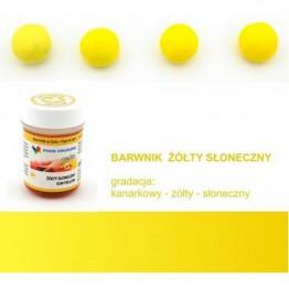 Barwnik Food Colours w żelu żółty słoneczny 35g
