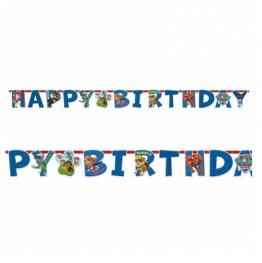 Banner urodzinowy Psi Patrol-180 cm