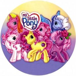 Opłatek na tort My Little Pony-1-20cm