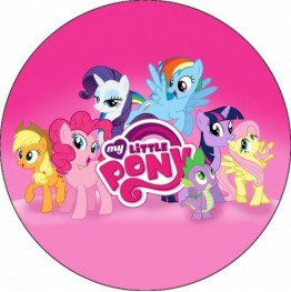 Opłatek na tort My Little Pony-2-20cm