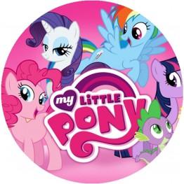 Opłatek na tort My Little Pony-4-20cm