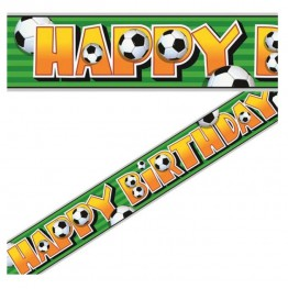 Banner foliowy Happy Birthday-Piłka Nożna-3