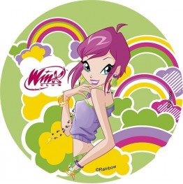 Opłatek na tort Winx-Nr 9-21cm