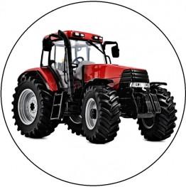 Opłatek na tort Traktor-3-20cm